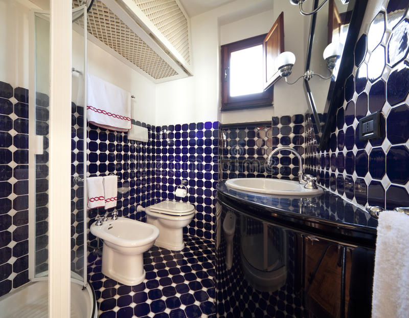 opinião do banheiro fotos de stock royalty free
