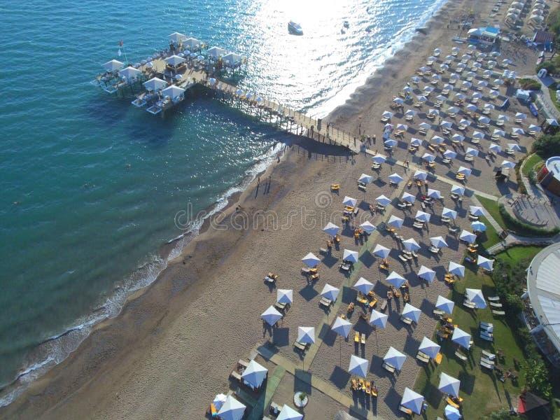 Opinião do céu de Antalya fotos de stock royalty free
