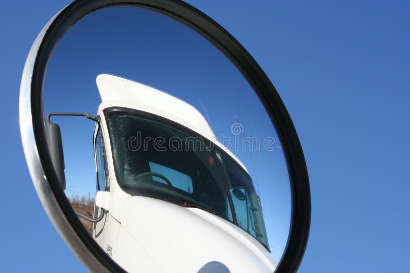 Opinião do caminhão foto de stock