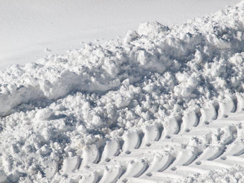 Download Trilha da neve imagem de stock. Imagem de trajeto, estação - 29842713