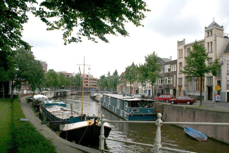 Opinião do dia a dia e da cidade em Groningen fotografia de stock royalty free