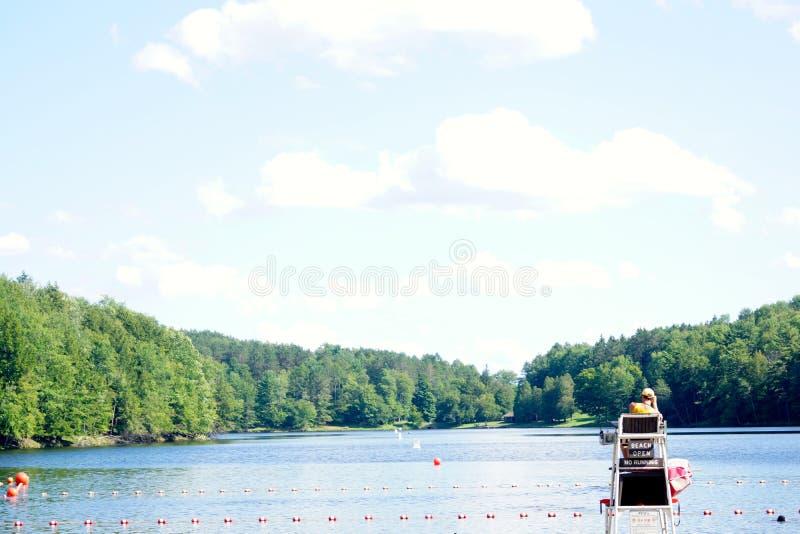 Opinião do lago fotos de stock