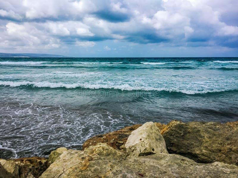 Opinião do mar fotografia de stock royalty free