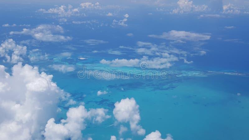 Opinião do mar do espaço livre de Cristal foto de stock royalty free