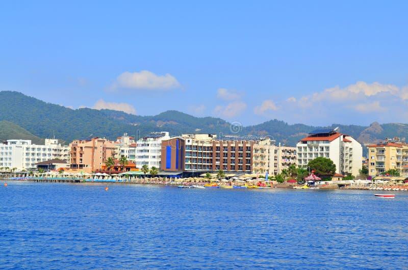 Opinião do mar Marmaris Turquia imagens de stock royalty free