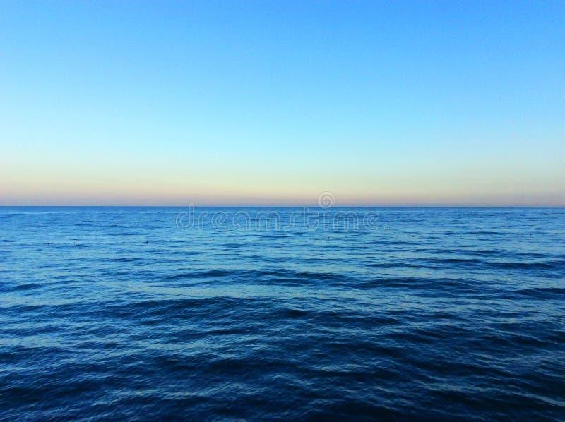 Opinião do mar Mediterrâneo imagens de stock royalty free