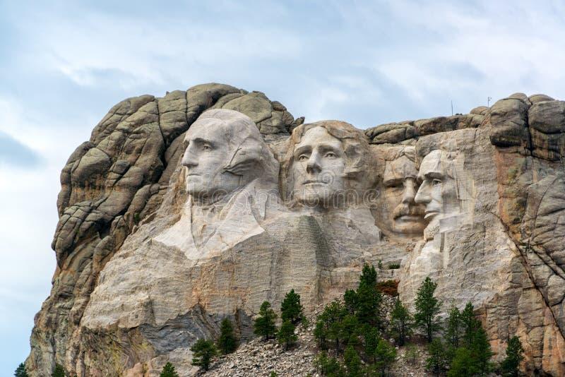 Opinião do Monte Rushmore foto de stock royalty free