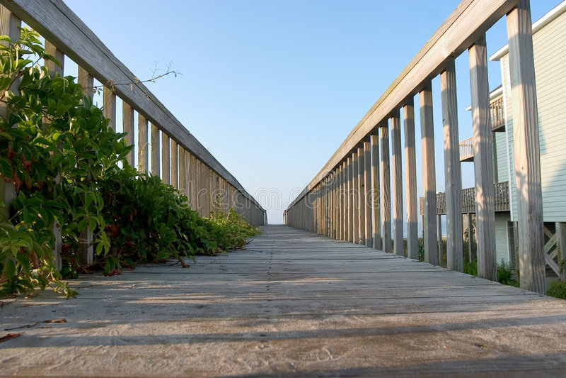 Opinião do passeio à beira mar fotografia de stock royalty free