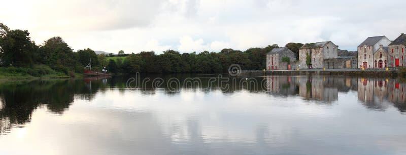 Opinião do rio. imagem de stock