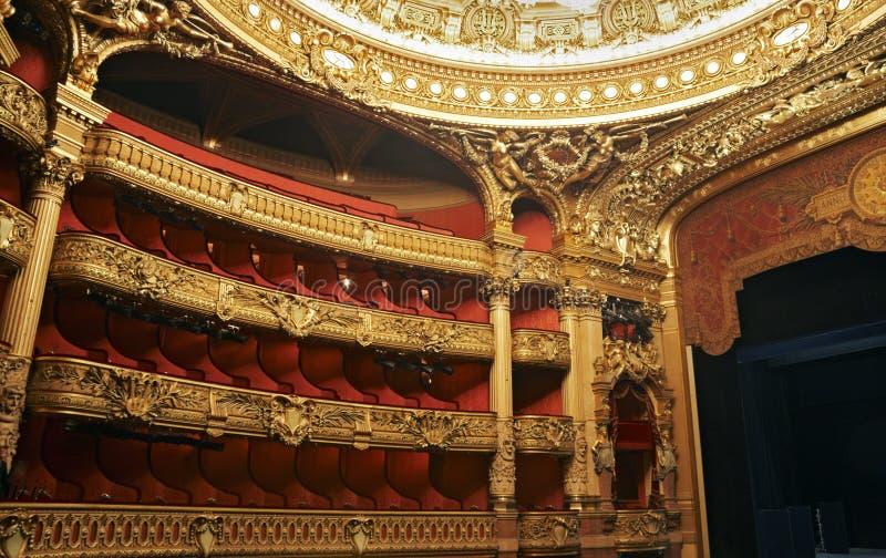Opinião do teatro fotografia de stock royalty free