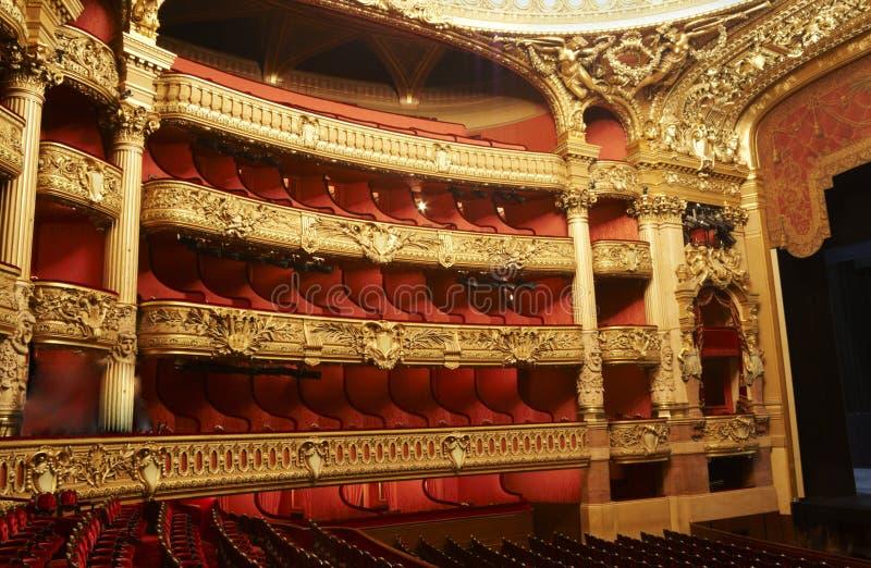 Opinião do teatro foto de stock