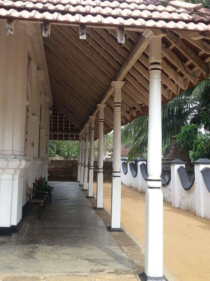 Opinião do templo fotos de stock