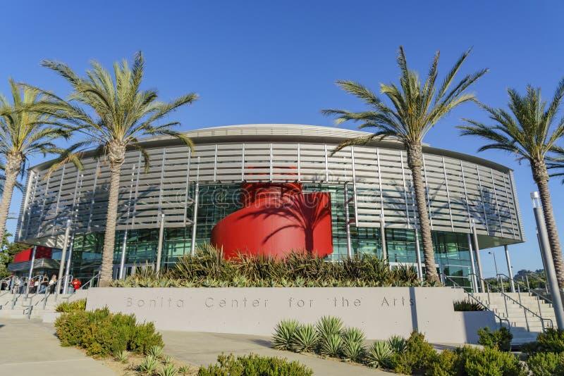 Opinião exterior Bonita Center para as artes foto de stock