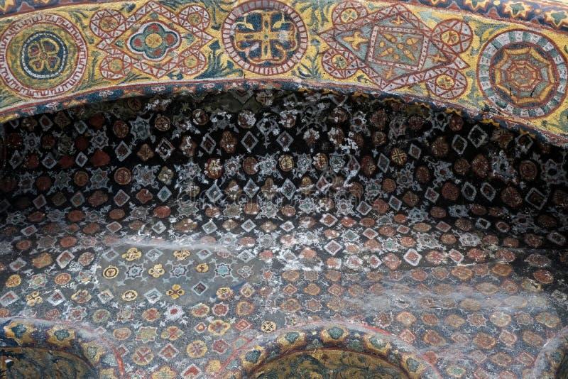 Opinião exterior o Hagia Sophia Museum em Istambul fotografia de stock
