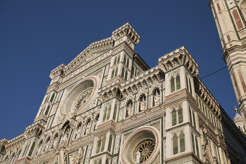 Opinião Florence Cathedral imagens de stock royalty free
