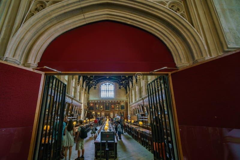 Opinião interior o grande salão famoso no Cathedra da igreja de Cristo fotografia de stock royalty free