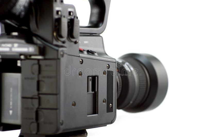 Opinião lateral da câmera imagem de stock royalty free