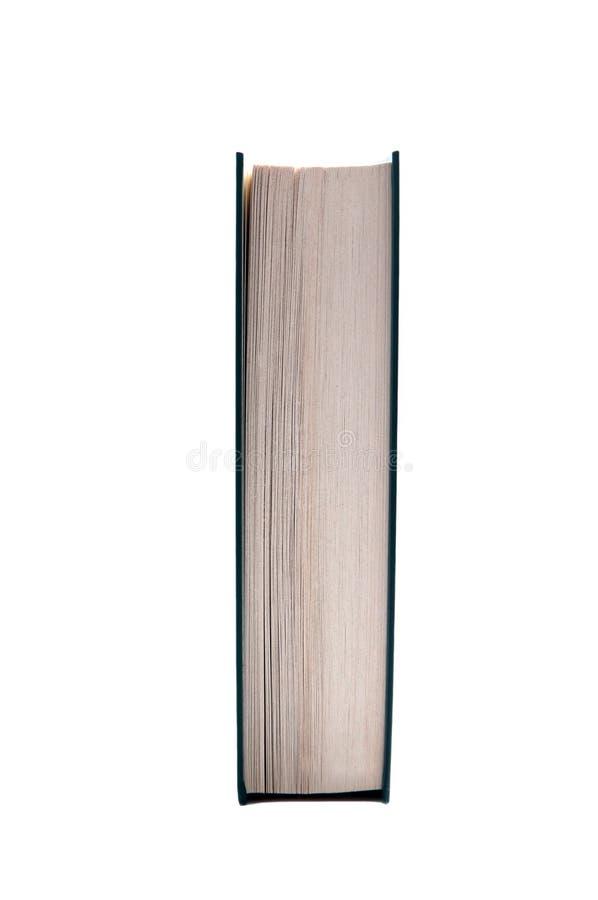Opinião lateral do livro fotografia de stock