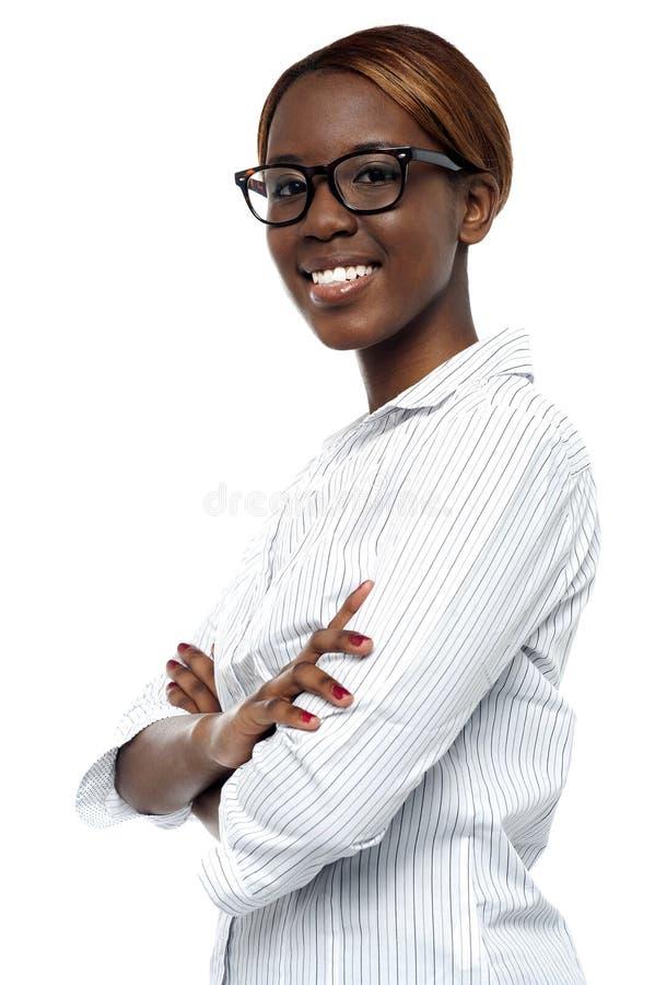 Download Opinião Lateral A Senhora Corporativa Confiável Foto de Stock - Imagem de incorporado, businesswoman: 26509994