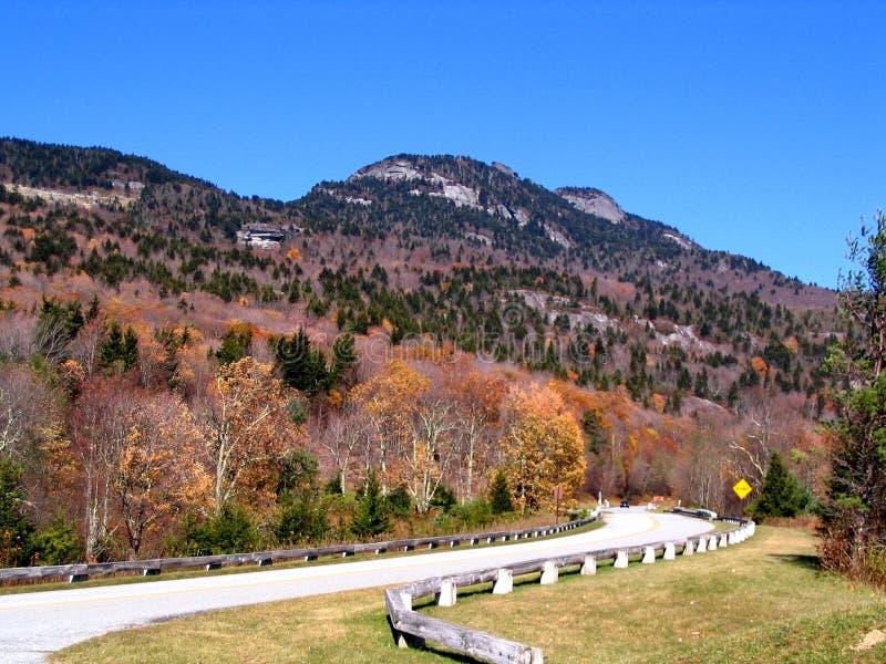 Opinião o avô Mt. do Parkway azul de Ridge foto de stock