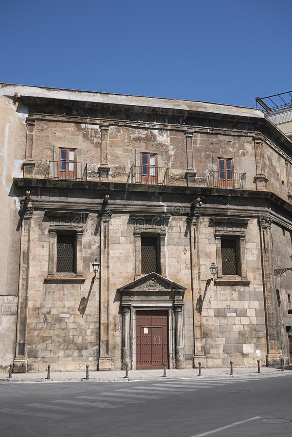 Opinião Santa Maria di Porto Salvo foto de stock royalty free