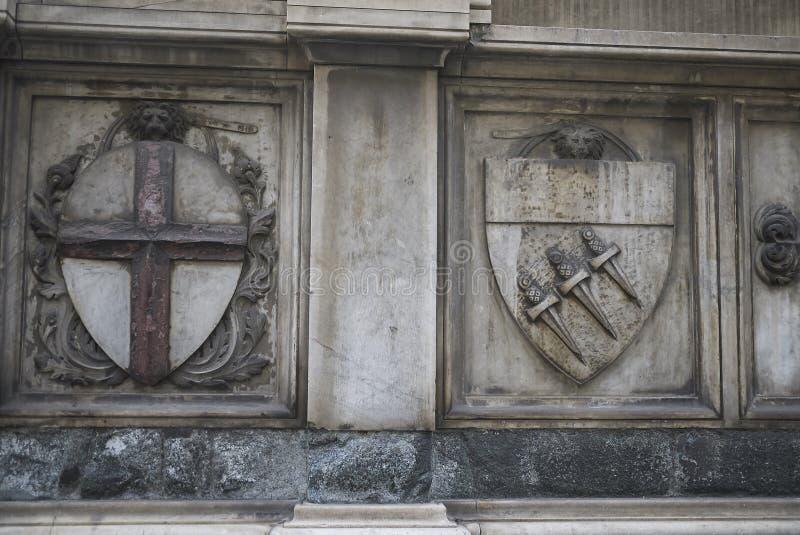 Opinião Santa Maria Novella foto de stock