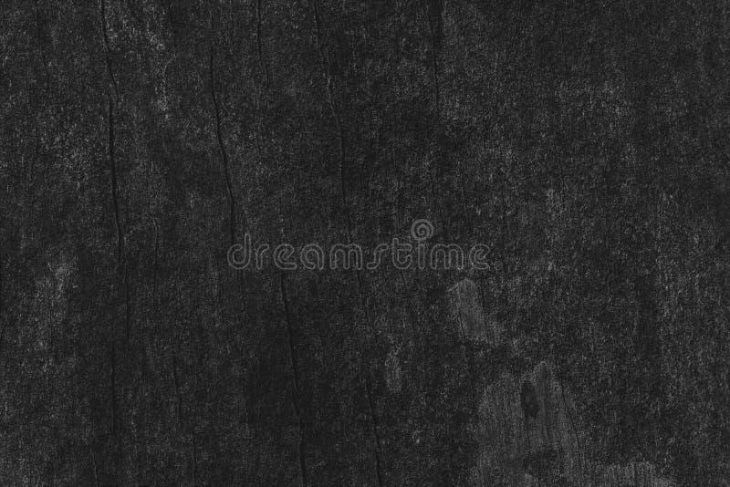 Opinião superior da textura preta de madeira da obscuridade do fundo da tabela, placa de assoalho g imagens de stock