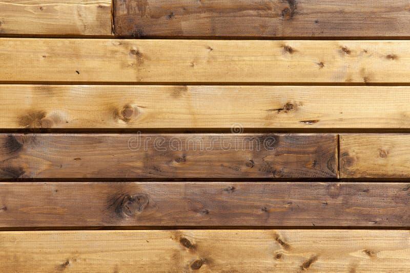 Opinião superior do fundo de madeira da tabela fotografia de stock