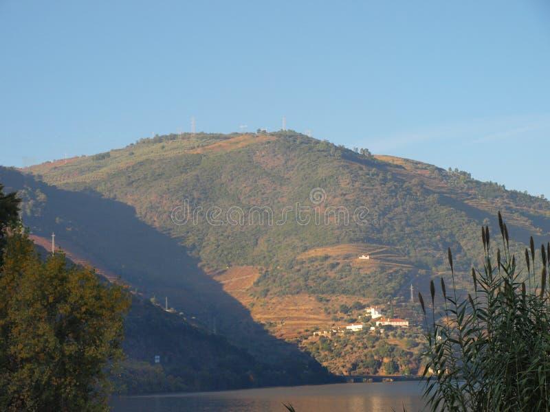 Opinião tipical do rio de Douro imagem de stock royalty free