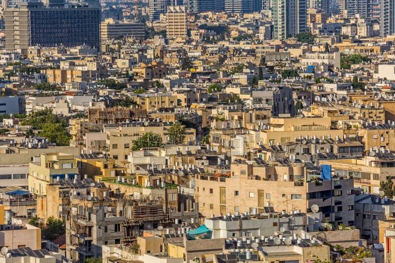 Opinión aérea de Tel Aviv foto de archivo libre de regalías