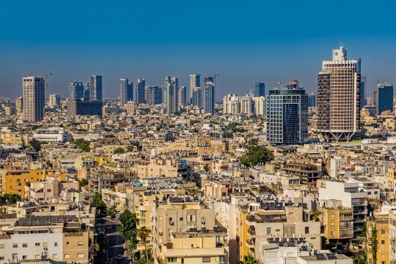 Opinión aérea de Tel Aviv fotos de archivo
