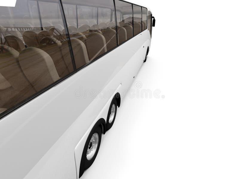 Opinión aislada del omnibus stock de ilustración
