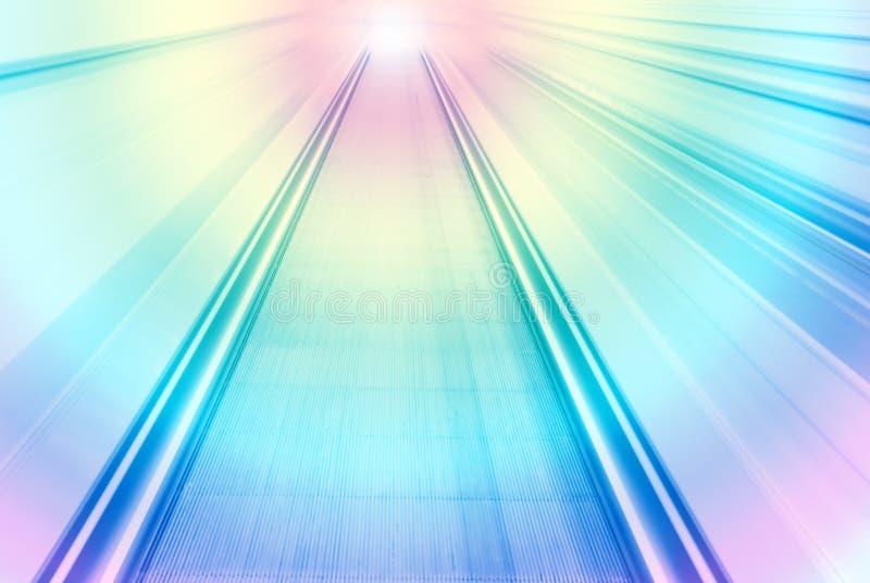 Opinión borrosa extracto del movimiento de la velocidad del color imágenes de archivo libres de regalías