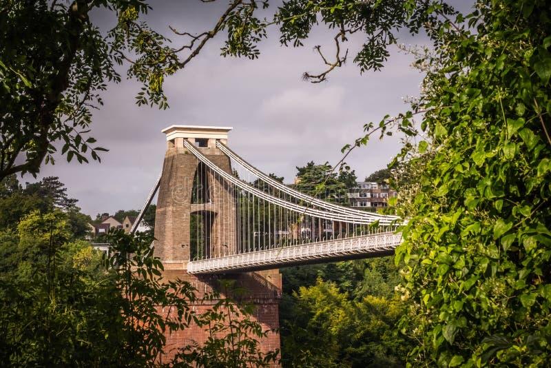 Opinión Clifton Bridge imágenes de archivo libres de regalías