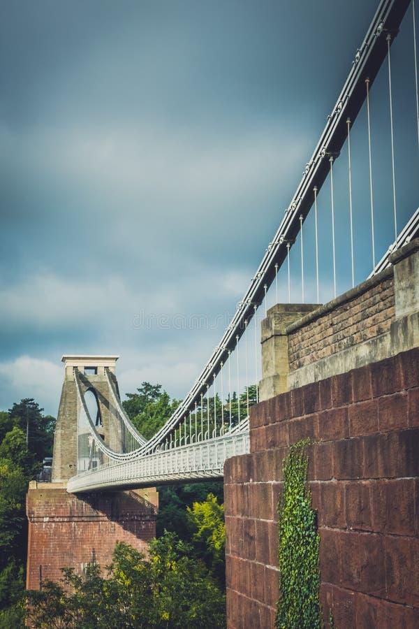 Opinión Clifton Bridge imagen de archivo