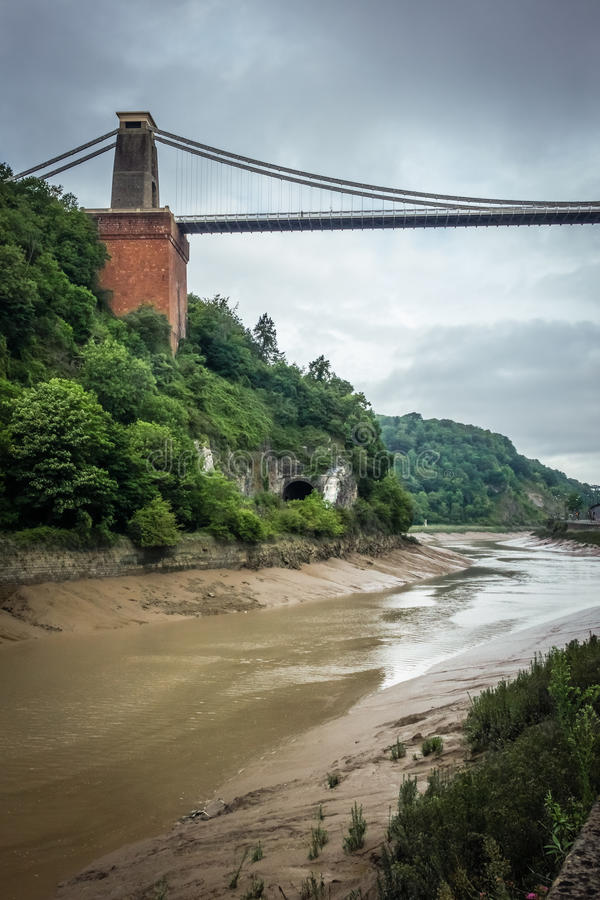 Opinión Clifton Bridge imagen de archivo libre de regalías