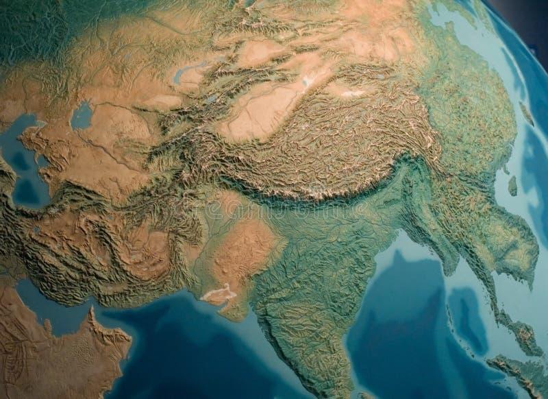 Opinión de Asia del Sur foto de archivo
