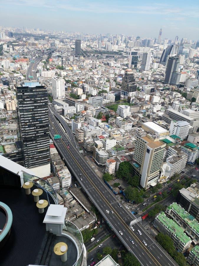 Opinión de Bangkok del top fotos de archivo libres de regalías
