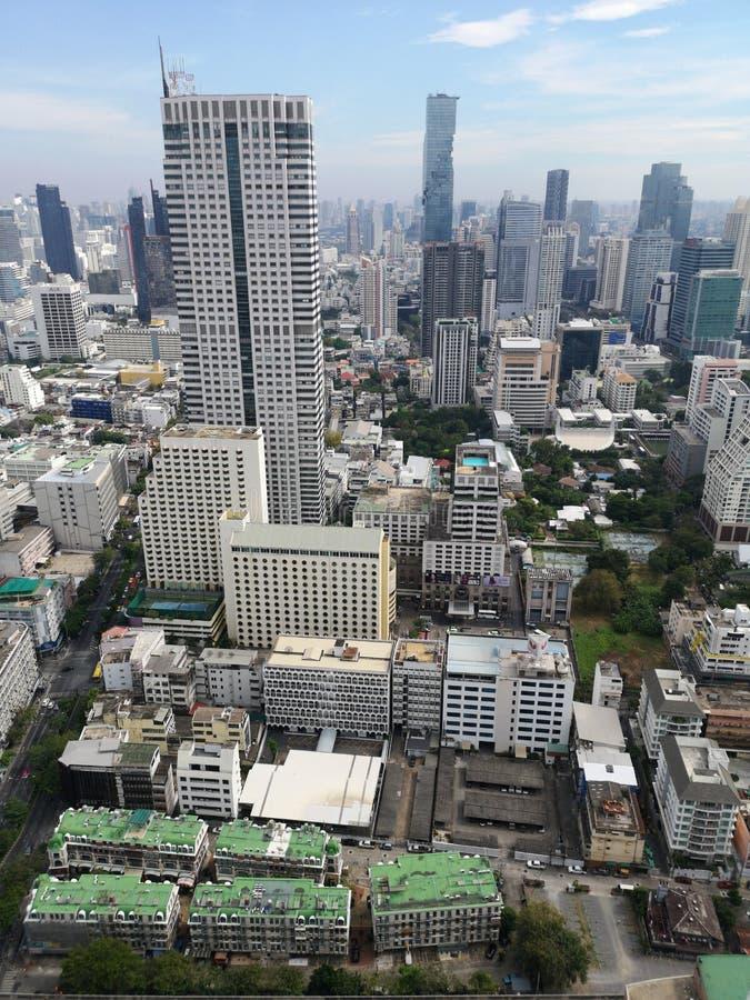 Opinión de Bangkok del top imagenes de archivo