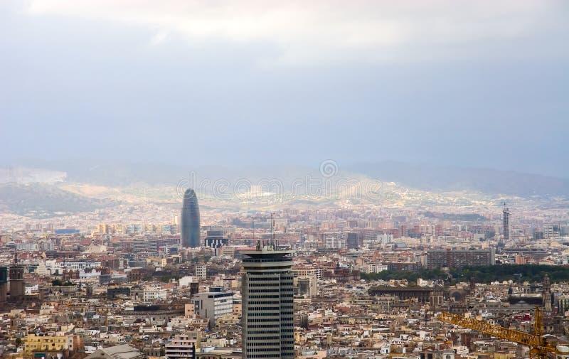 Opinión de Barcelona. fotografía de archivo