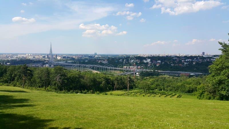 Opinión de Belgrado imágenes de archivo libres de regalías