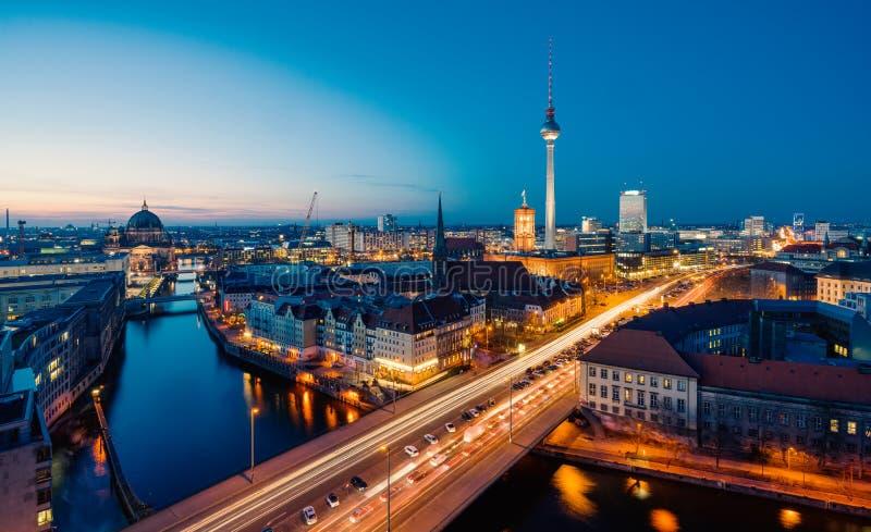 Opinión de Berlín fotos de archivo libres de regalías