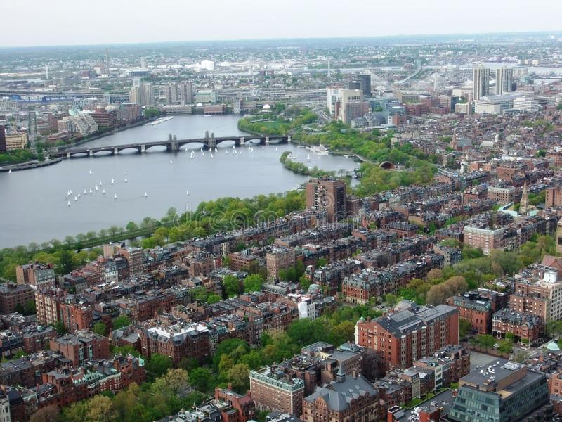 Opinión de Boston fotos de archivo libres de regalías