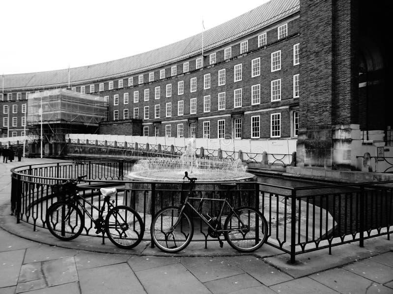 Opinión de Bristol fotografía de archivo libre de regalías