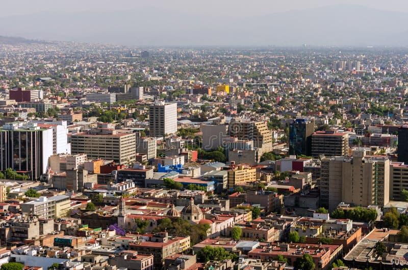 Opinión de Ciudad de México foto de archivo libre de regalías