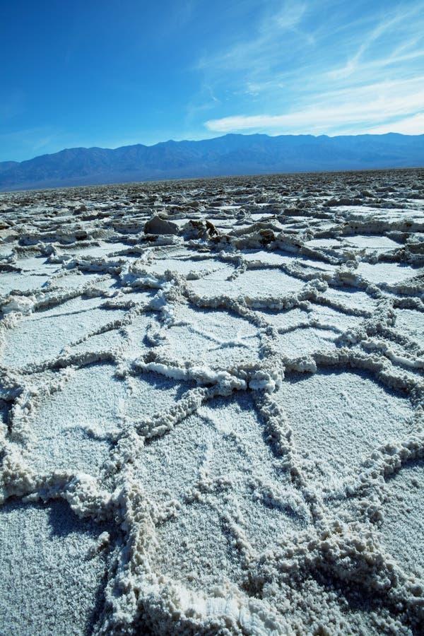 Opinión de Death Valley fotografía de archivo