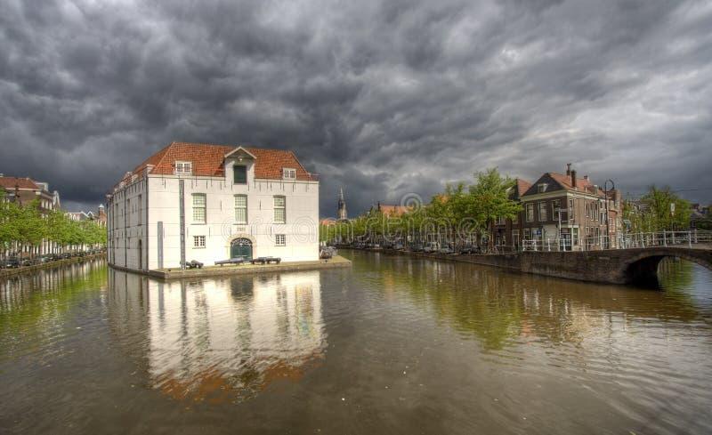 Opinión de Delft fotografía de archivo libre de regalías