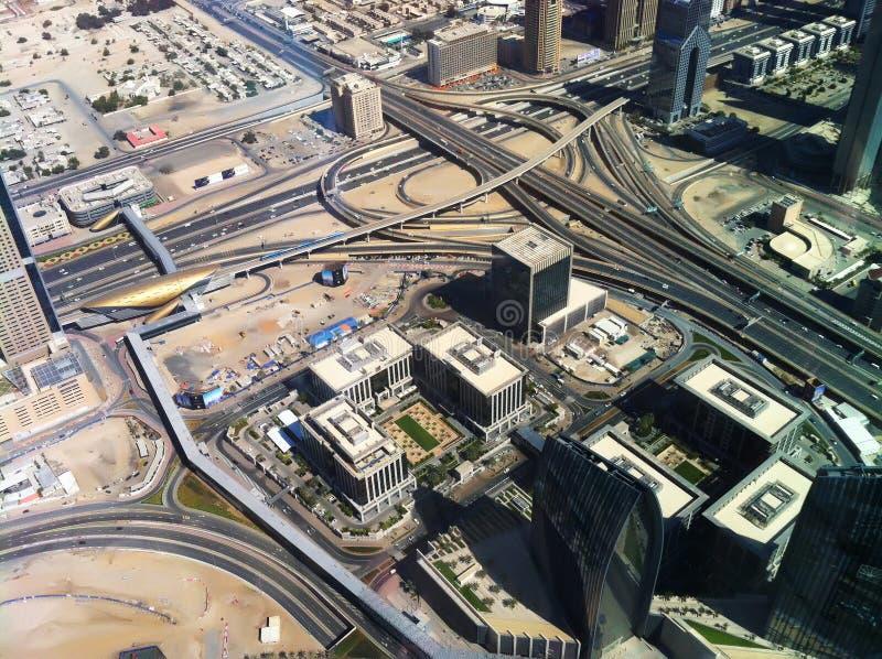 Opinión de Dubai Jumeirah UAE fotografía de archivo libre de regalías
