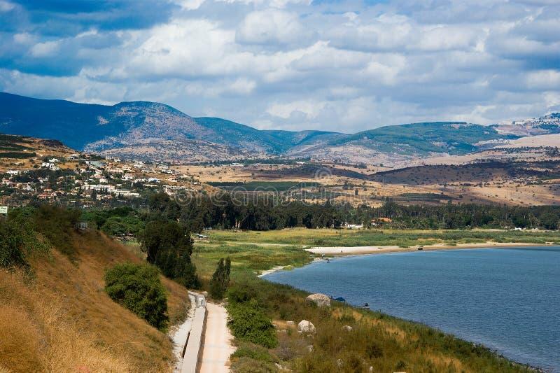 Opinión de Galilee foto de archivo libre de regalías