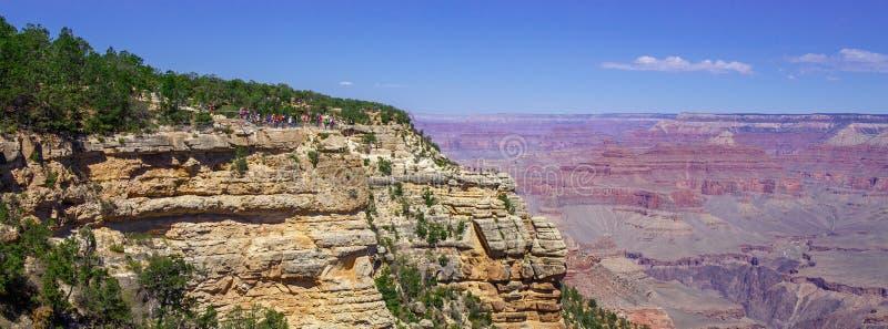 Opinión de Grand Canyon, el mejor de todos imagen de archivo